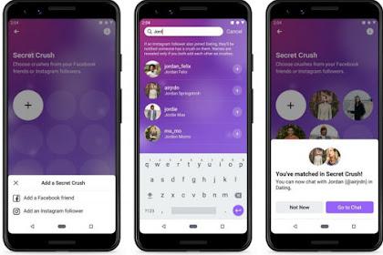 Facebook Dating Akhirnya Hadir di Eropa