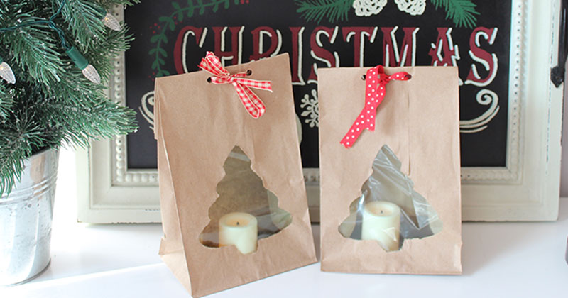 Easy Diy Paper Bag Luminaries For Christmas With Video Sunny Day