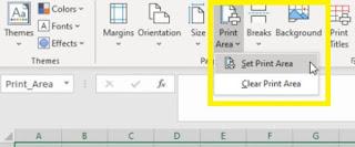 Menyesuaikan Print Area di Excel untuk Menjadikan Excel Menjadi PDF