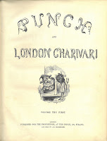 Title page of the first issue of Punch magazine