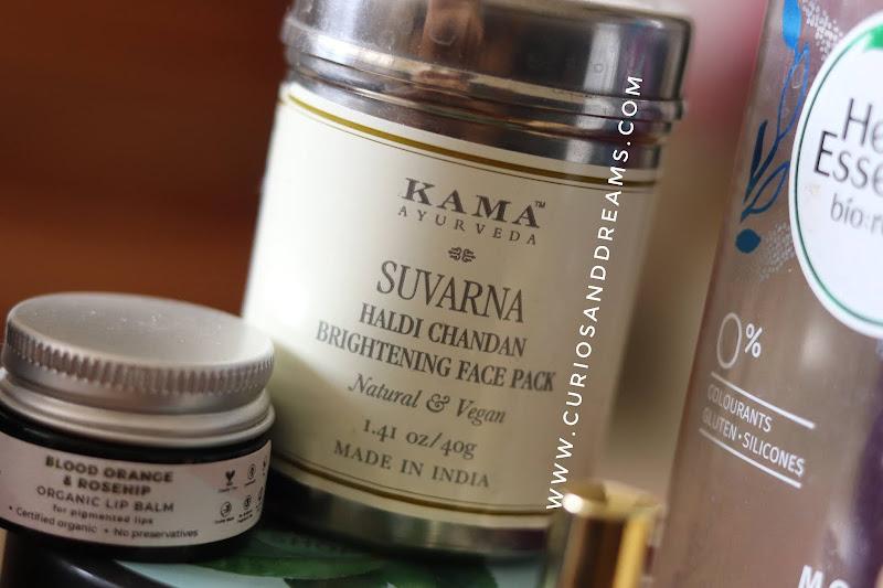 Kama Ayurveda Survana Face Pack review, Kama Ayurveda Suvarna review