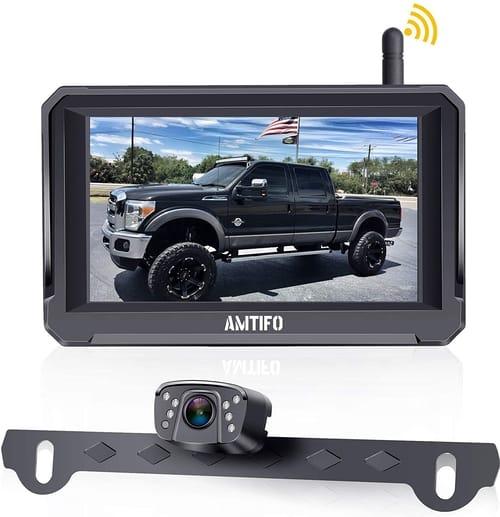 AMTIFO HD 1080P Digital Wireless Backup Camera