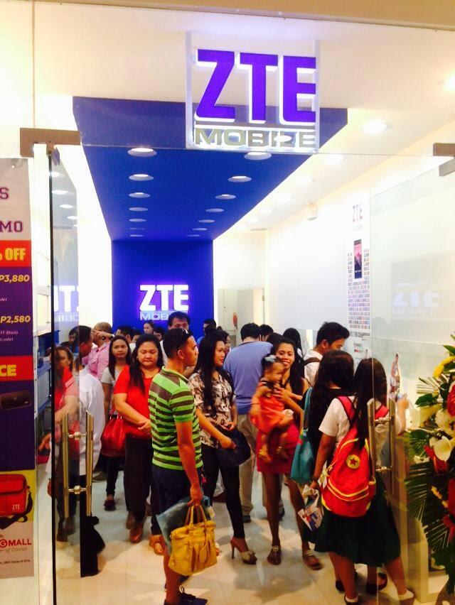 ZTE concept store