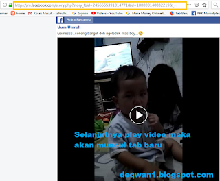 download video facebook di laptop mudah