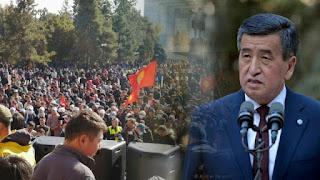 Mundur Pascakerusuhan, Presiden Kirgizstan: Saya Tak Ingin Membiarkan Pertumpahan Darah