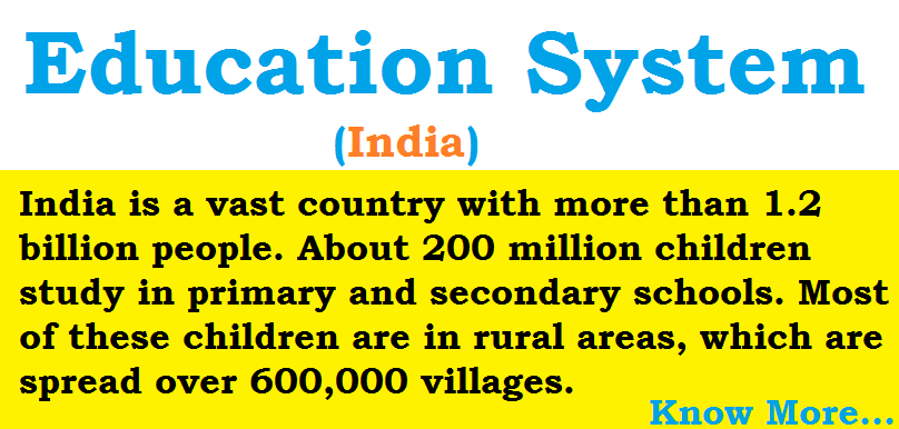 Education System - Primary Eduaction