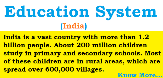 Primary Eduaction - Education System in India, Levels, Facts, Importance
