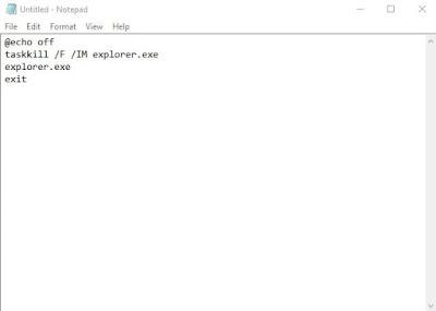 Cara Menghilangkan Activate Windows via notepad