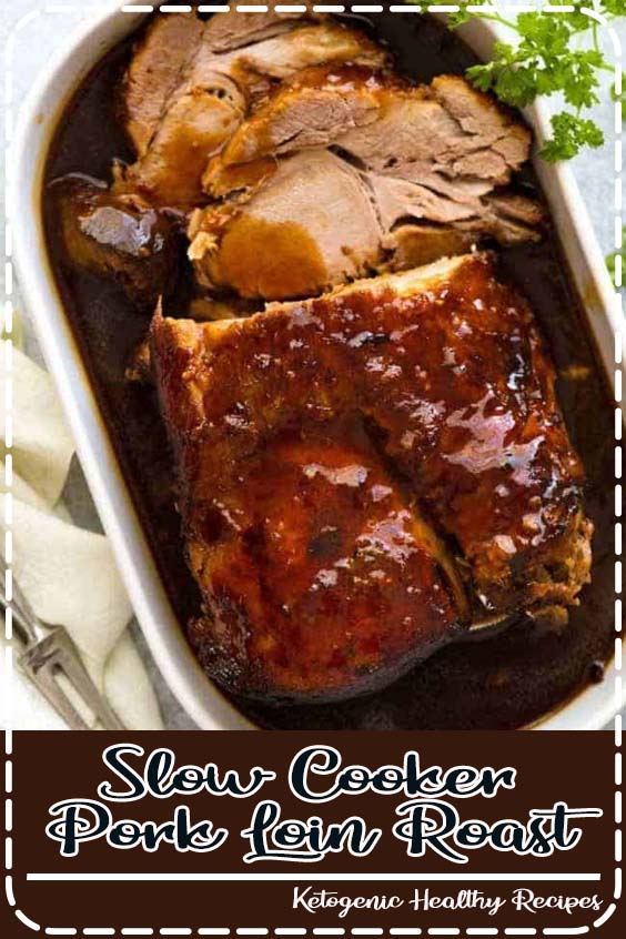 A Slow Cooker Pork Loin roast or Pork Shoulder roast that Slow Cooker Pork Loin Roast