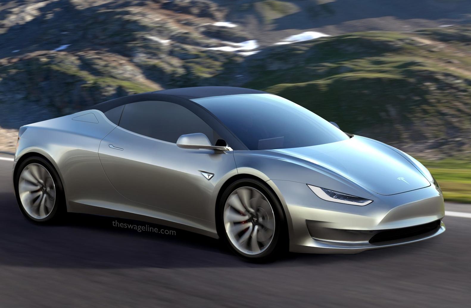 Tesla Model R rendering