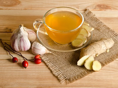 Benefits of ginger-garlic tea