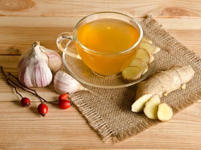Benefits of ginger-garlic tea
