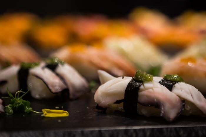 sushi vaaleasta kalasta