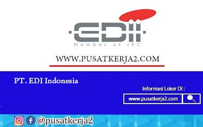 Lowongan Kerja PT EDI Indonesia SMA SMK D3 S1 April 2020 NET Developer