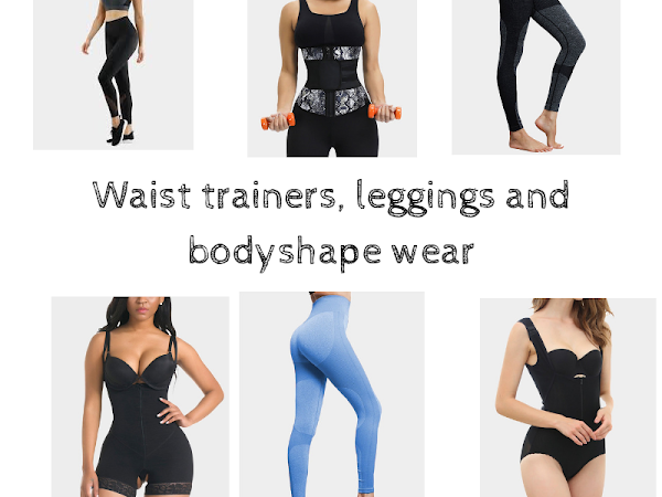 Waist trainers, leggings and vests for the gym
