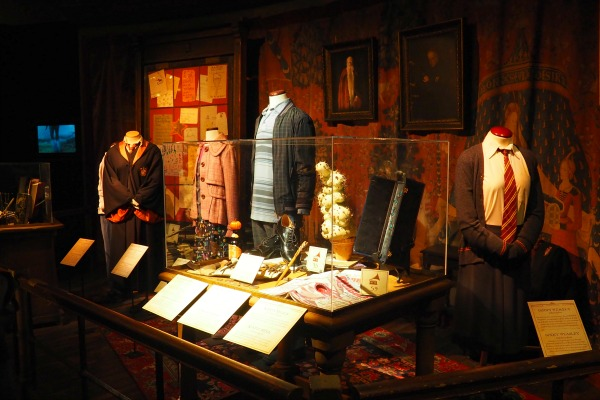 gryffindor harry potter exhibtion