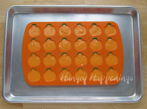 Mini Cheesecake Pumpkins Halloween Recipes Hungry