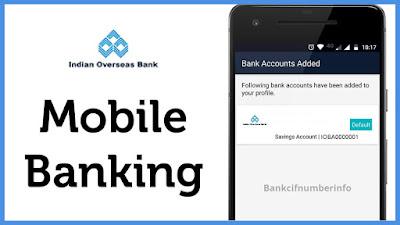 IOB mobile banking registration - IOB mobile app