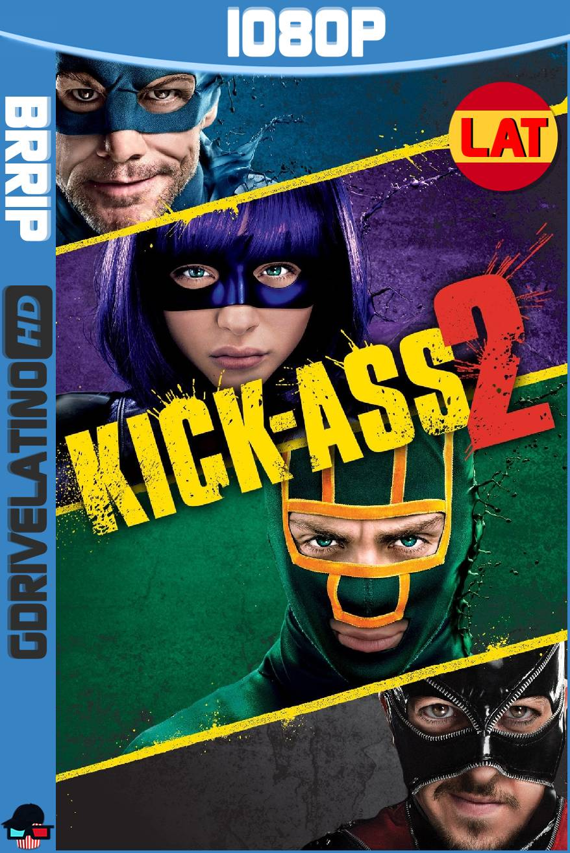 Kick-Ass 2 (2013) BRRip 1080p Latino-Ingles MKV
