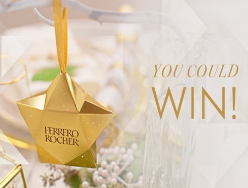 Ferrero Rocher Decorative Star Ornament Giveaway