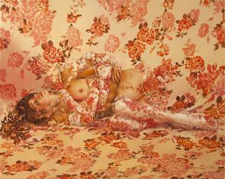 pinturas-mujeres-y-flores