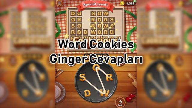 Word Cookies Ginger Cevaplari