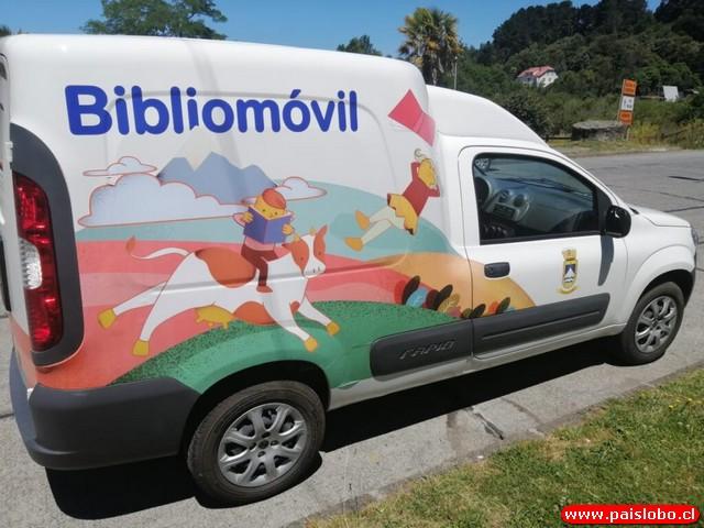 Bibliomóvil de Puerto Octay