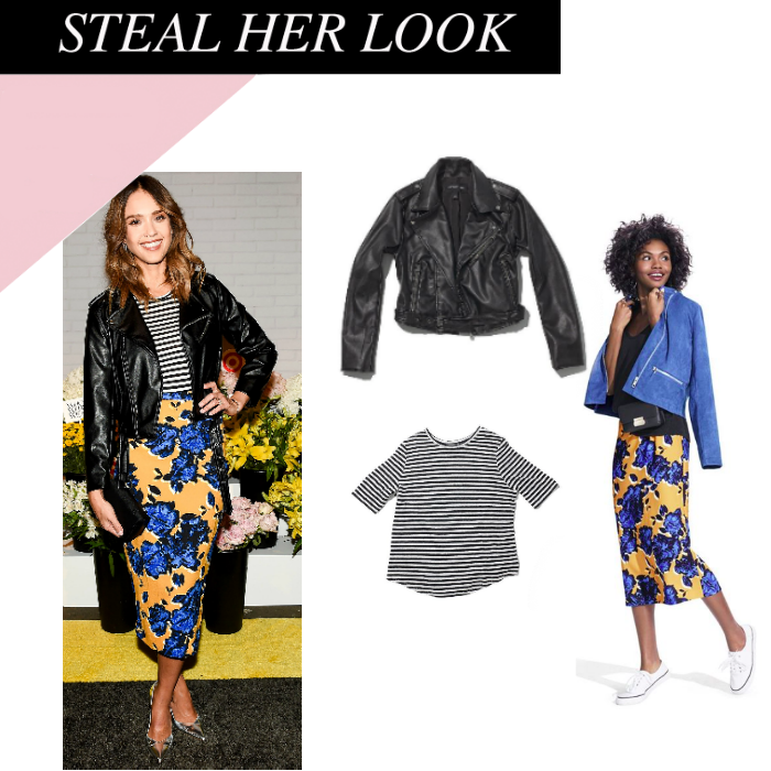 f871c143e Steal her Look: Jessica Alba. Jessica Alba was spotted a few weeks back at  the Who What Wear x Target launch party.
