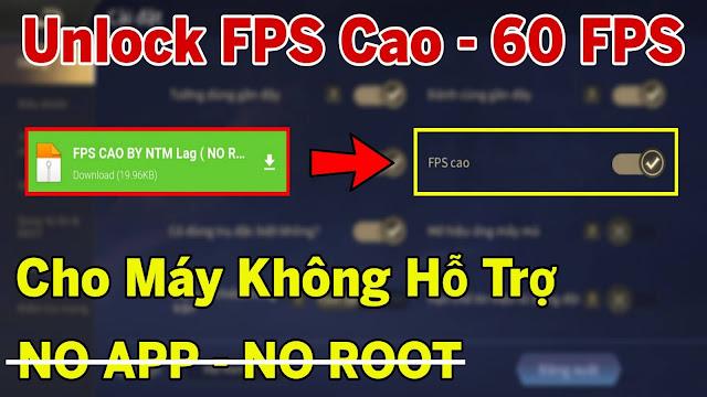 HƯỚNG DẪN BẬT FPS CAO LIÊN QUÂN MÙA 15 NO ROOT - NO APP SIÊU MƯỢT CHO MÁY YẾU - 60FPS   HQT CHANNEL