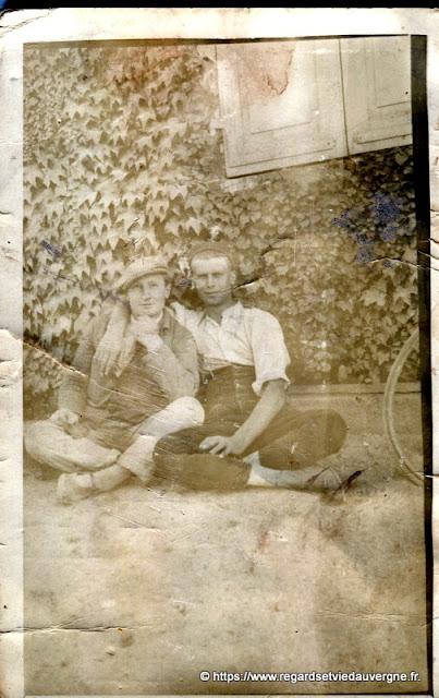 Photo de famille vintage