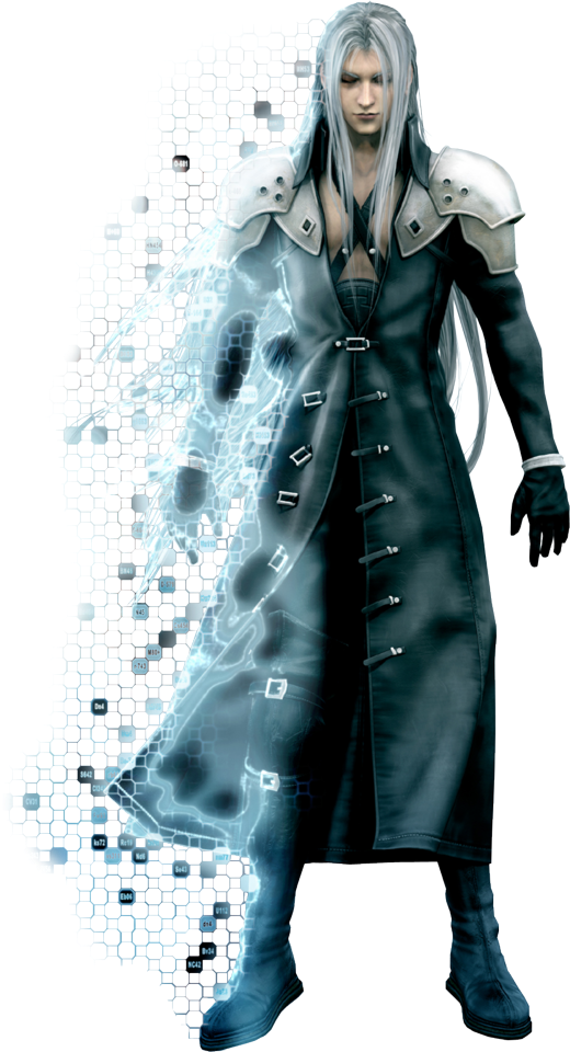 Final Fantasy VII Remake Final Fantasy VII: Advent Children Cloud Strife Sephiroth, final fantasy, video Game, fictional Character png free png