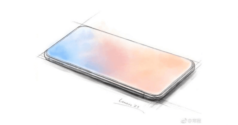 Lenovo Z5 teased, a phone with true all screen display!