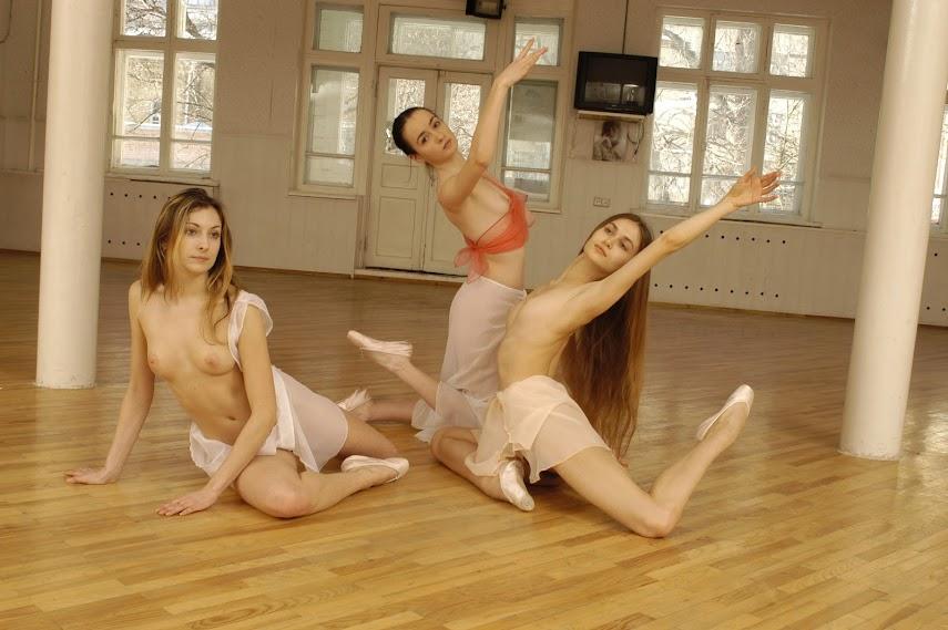 Met-Art 20040618 - Jasmine A & Lea A & Uliya E - Dancers 5 - by Goncharov