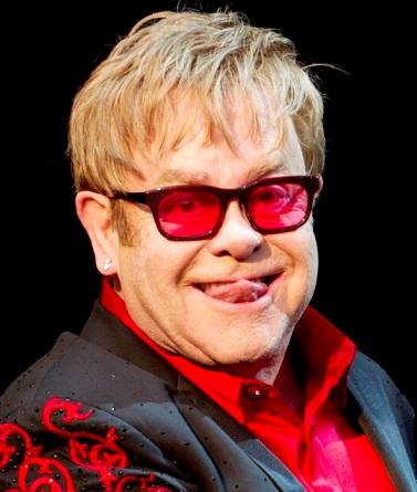 Foto de Elton John más anciano