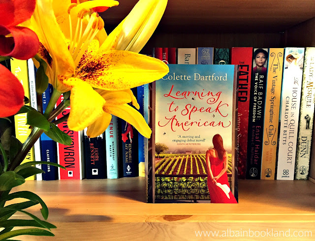Blog Tour: Learning How To Speak American - Guest Post by Colette Dartford