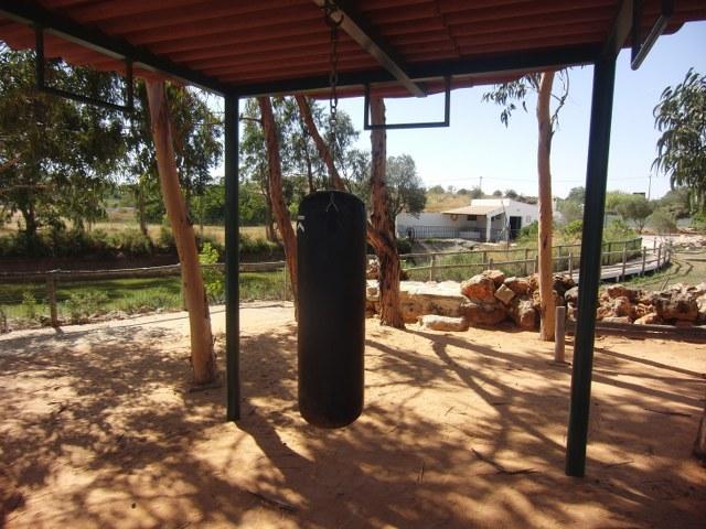 gimnasio saco boxeo algarve casa chico ze portugal