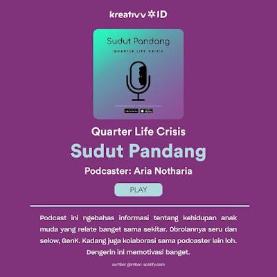 Podcast Quarter Life Crisis oleh Sudut Pandang