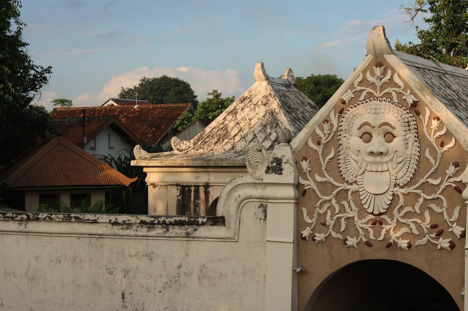 Palácio do Sultão em Yogyakarta