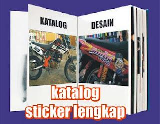 katalog sticker lengkap