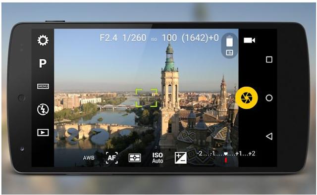Aplikasi Kamera Terbaik untuk Selfie Camera FV-5