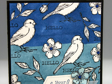 Bird Ballad RAK Card Received from Victoria Hevener