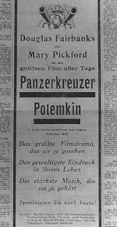Annonce pour Potemkine