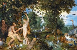 Фигури на Рубенс, пейзаж и животни от Брейгел