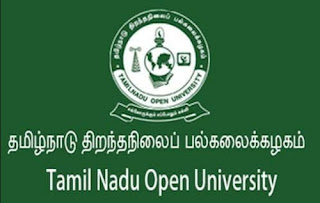 Tamil Nadu Open University -  PH.d Admission Notification For The year 2021