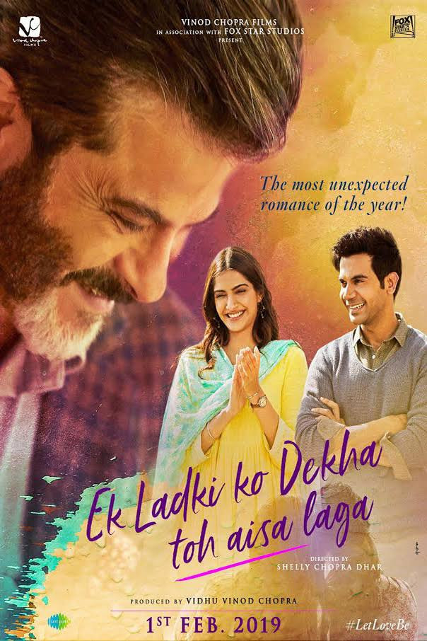 Ek Ladki Ko Dekha Toh Aisa Laga 2019 Hindi Movie Pre-DVDRip 350Mb