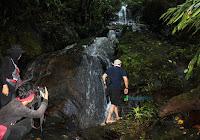 Air Terjun Sungai Pari Taman Nasional Betung Kerihun