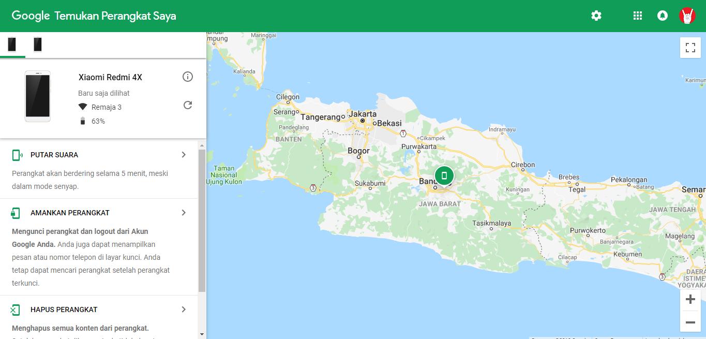 Aplikasi Untuk Mengetahui Lokasi HP Android yang Hilang