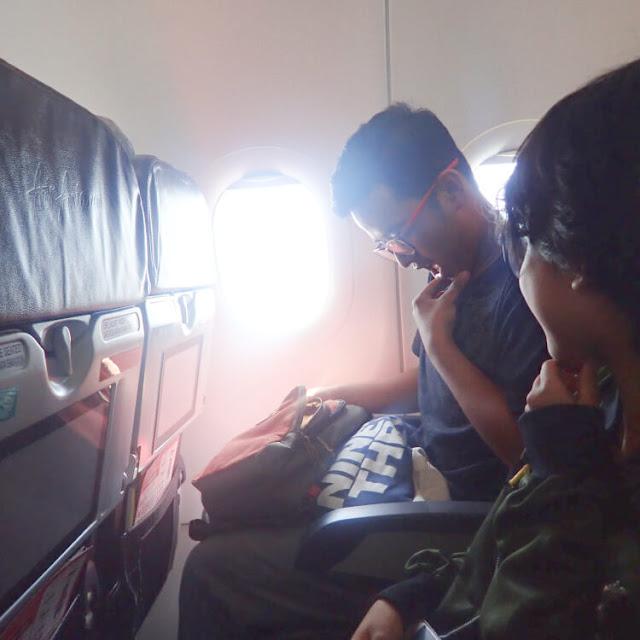 pengalaman naik air asia, ngunduh mantu di malaysia