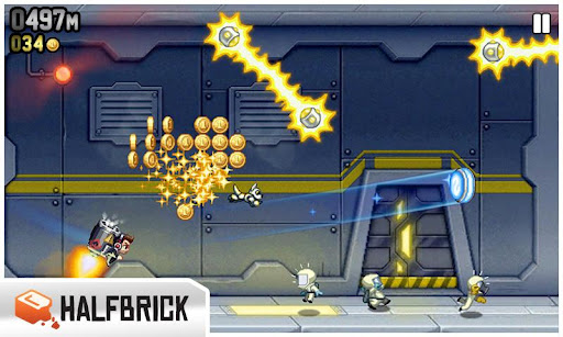o jogo jetpack joyride para celular java