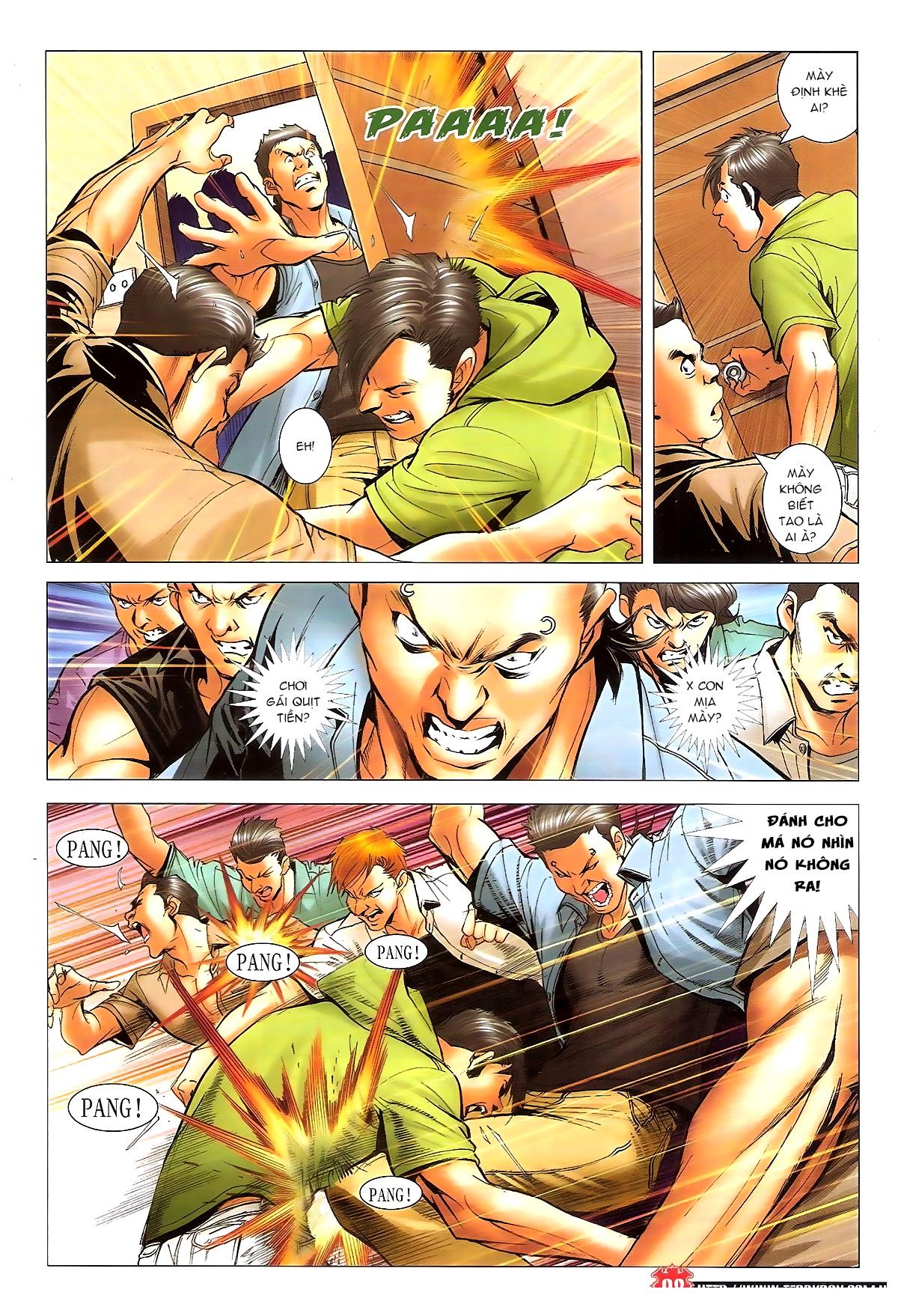 Người Trong Giang Hồ chapter 1648: tự tìm đường chết trang 6